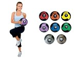 AEROMAT Deluxe Workout Medicine Ball Set - 2, 4, 6, 8, 10, 12, 15, 18, 20, 25, 30 lbs. (35939)