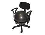 AEROMAT Deluxe Ergonomic Ball Office Chair (35955)