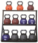 AEROMAT Kettlebell Medicine Ball Rack (Holds up to 11 balls) (75000)