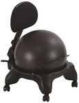 AEROMAT Adjustable Fit Ergonomic Ball Chair (75002)