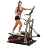 BEST FITNESS (BFE1) Center Drive Workout Spacesaver Elliptical by BODY-SOLID