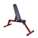BEST FITNESS (BFFID10) Flat / Incline / Decline Exercise Bench by BODY-SOLID