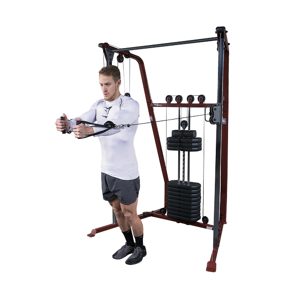 home pulley machine exercises