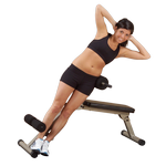 BEST FITNESS (BFHYP10) Ab Board Hyperextension by BODY-SOLID