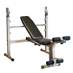 BEST FITNESS (BFOB10) Olympic Bench w/ Leg Developer by BODY-SOLID
