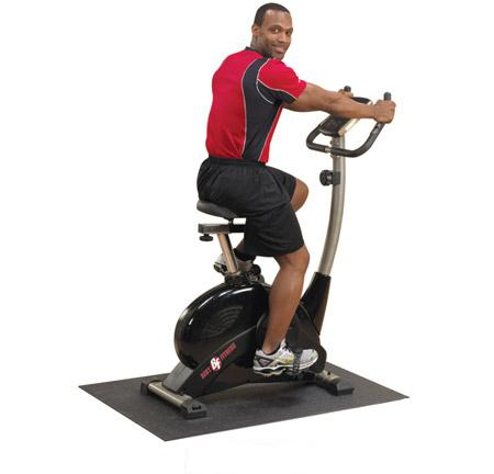 BEST FITNESS (BFUB1) Upright Exercise Stationary Bike by ...
