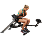 BODY-SOLID (GAB350) Semi-Recumbant Dual Ab Bench