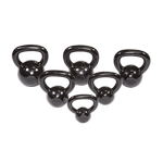BODY-SOLID (KBS105) Kettle Bell Cast Iron Set Singles 5-30