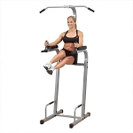Powerline (PVKC-83X) Vertical Knee Raise Chin Dip by BODY-SOLID