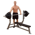 BODY-SOLID Pro Clubline Commercial (SFB349G) Flat Olympic Weight Bench