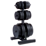 BODY-SOLID Olympic Plate Tree (WT46)