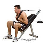 Powerline (PAB-21X) Ab Exercise Bench by BODY-SOLID