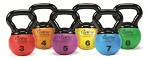 ECOWISE Mini Kettlebell Ball, 3 lb - Latex Free  (85801)