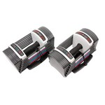 POWER BLOCK SportBlock Set Adjustable Dumbbells (3 - 24 lbs. per hand)
