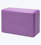 Gaiam Yoga Block - Purple