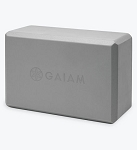 Gaiam Yoga Block - Gray