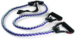 SPRI Braided Xertube Trainer Rubber Resistance Band  - Level Five (Commercial Grade)