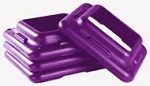 The STEP - Pair of Additional Risers- Violet