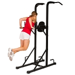 THE X-MARK Power Tower with Dip Stand and Split Grip Pull-up Bar XM-4451