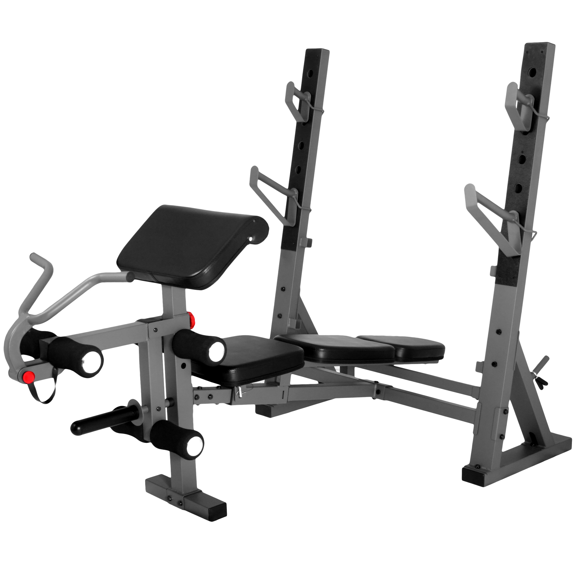 The X Mark International Olympic Weight Bench With Leg