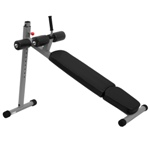 THE X-MARK 12 Position Adjustable Ab Bench - Gray (XM-7608)