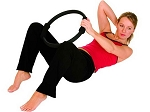 AEROMAT Pilates Ring 14 in diameter - black (37001)