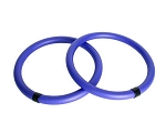 AEROMAT Body Toning Ring - 2 pcs, 13.5 in Diameter, Purple (37002)