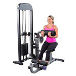 BODY-SOLID PRO-Select Ab & Back Machine (GCAB-STK)