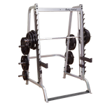 BODY-SOLID Series 7 Linear Bearing Smith Machine Squat Rack (GS348Q)