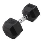 BODY-SOLID Rubber Coated Hex Dumbbells 35lbs. (Sold as Single) (SDR35)