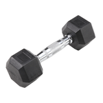 BODY-SOLID Rubber Coated Hex Dumbbells 8lbs. (Sold as Single) (SDR8)