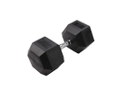 BODY-SOLID Rubber Coated Hex Dumbbells 95lbs. (Sold as Single) (SDR95)
