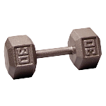 BODY-SOLID Cast Hex Dumbbells 30lbs. (Sold as Single) (SDX30)
