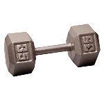 BODY-SOLID Cast Hex Dumbbells 35lbs. (Sold as Single) (SDX35)
