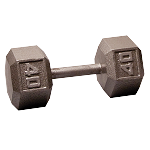 BODY-SOLID Cast Hex Dumbbells 40lbs. (Sold as Single) (SDX40)