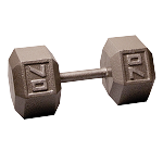 BODY-SOLID Cast Hex Dumbbells 70lbs. (Sold as Single) (SDX70)