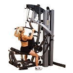 BODY-SOLID Fusion 600 Multi Home Universal Gym (F600/2) w/ 210 lb. Weight Stack
