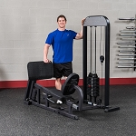 BODY-SOLID Pro-Select Leg & Calf Press Machine, 310LB Stack