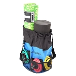 BODY-SOLID Fitness Pack - Includes Yoga/Exercise Mat, Foam Roller, 5 Resistance Bands and Tote Bag
