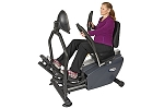 HCI PhysioStep MDX Recumbent Elliptical Cross Trainer Machine - Commercial Grade