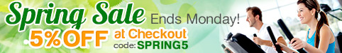 spring sale on exercise equipment