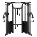 THE X-MARK Functional Trainer Cable Machine with Dual 200 lb Weight Stacks (XM-7626)