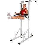 THE X-MARK Power Tower with Dip Stand and Pull-Up Chin-up Bar XM-4446