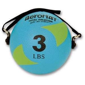 AEROMAT Power Yoga 3 lb Pilates Weight Ball (Green) (35941)