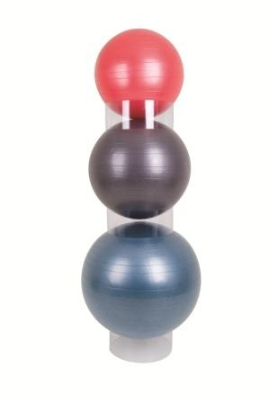 AEROMAT Gym Ball Stacker - Set of 3 (Clear) (35951)