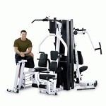 BODY-SOLID (EXM3000LPS) Strength Building Multi Home Gym System