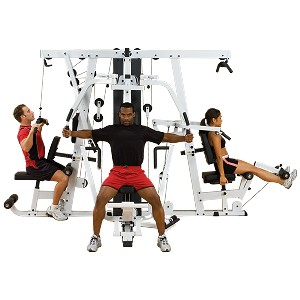 BODY-SOLID (EXM4000S)Strength Building Universal Gym System