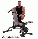 BODY-SOLID (FID46) Leverage Flat / Incline / Decline Exercise Weight Bench