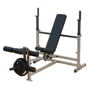 BODY-SOLID (GDIB46L) Power Center Combo Workout Weight Bench