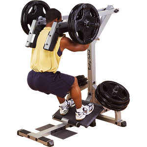 BODY-SOLID (GSCL360) Leverage Squat Calf Exercise Machine